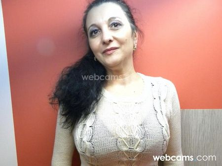 a really sexy milf with big boobs